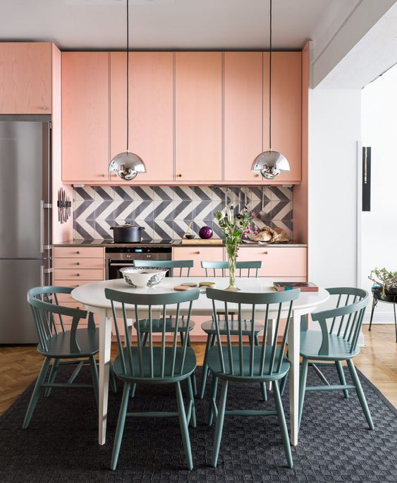Chick And Modern Ways To Use Pink In The Kitchen - Housance